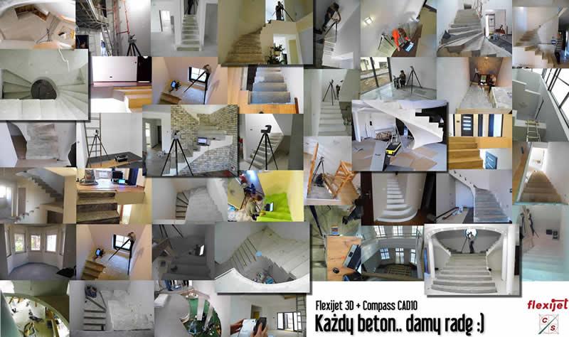 Pomiary beton Flexijet 3D