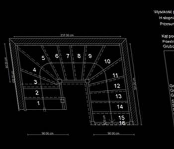 Projekty schodów dla stolarzy i ślusarzy