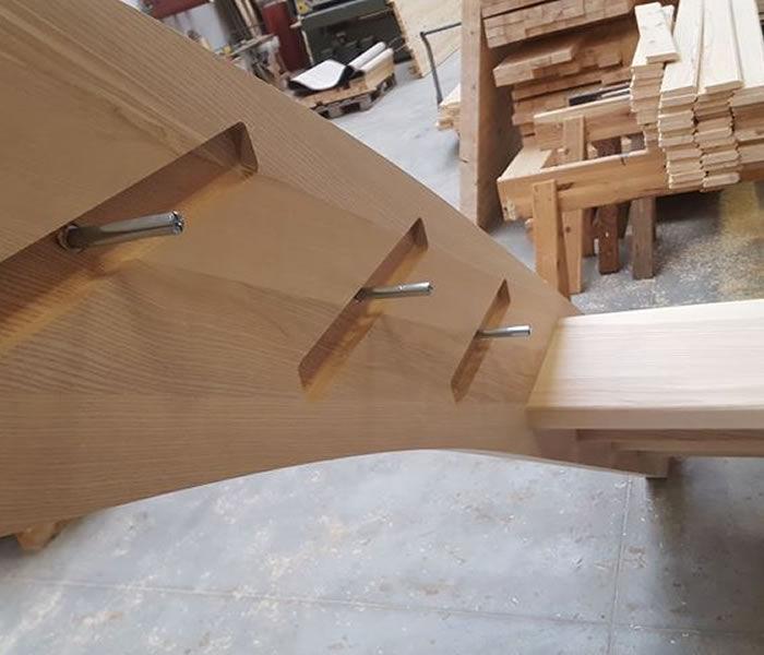 Schody - montaż stopnic