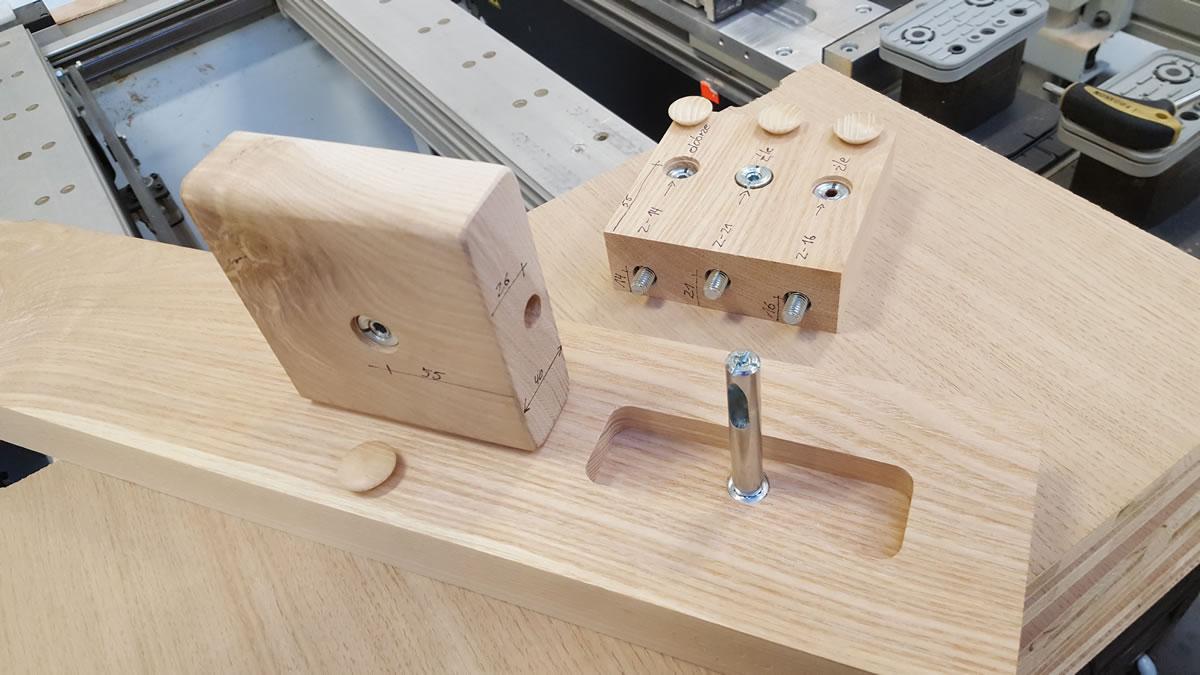 Schody - połączenie elementów
