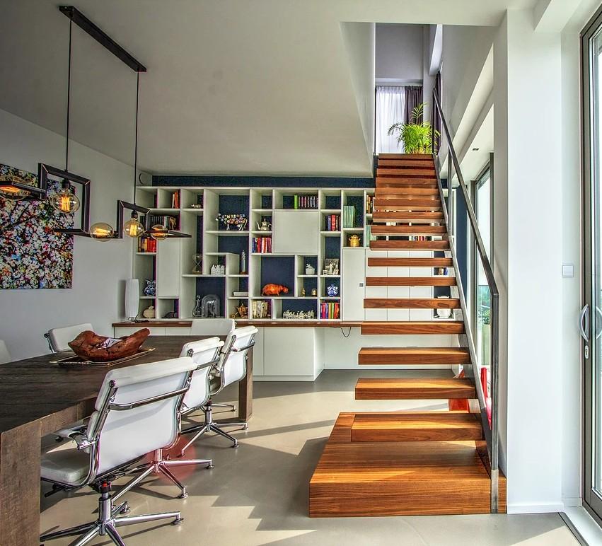 schody ażurowe wspornikowe