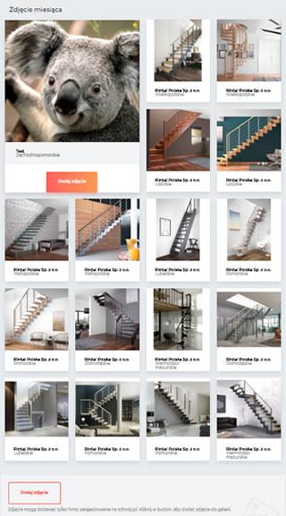 Dodawanie zdjęć schodów na stronie schody PL