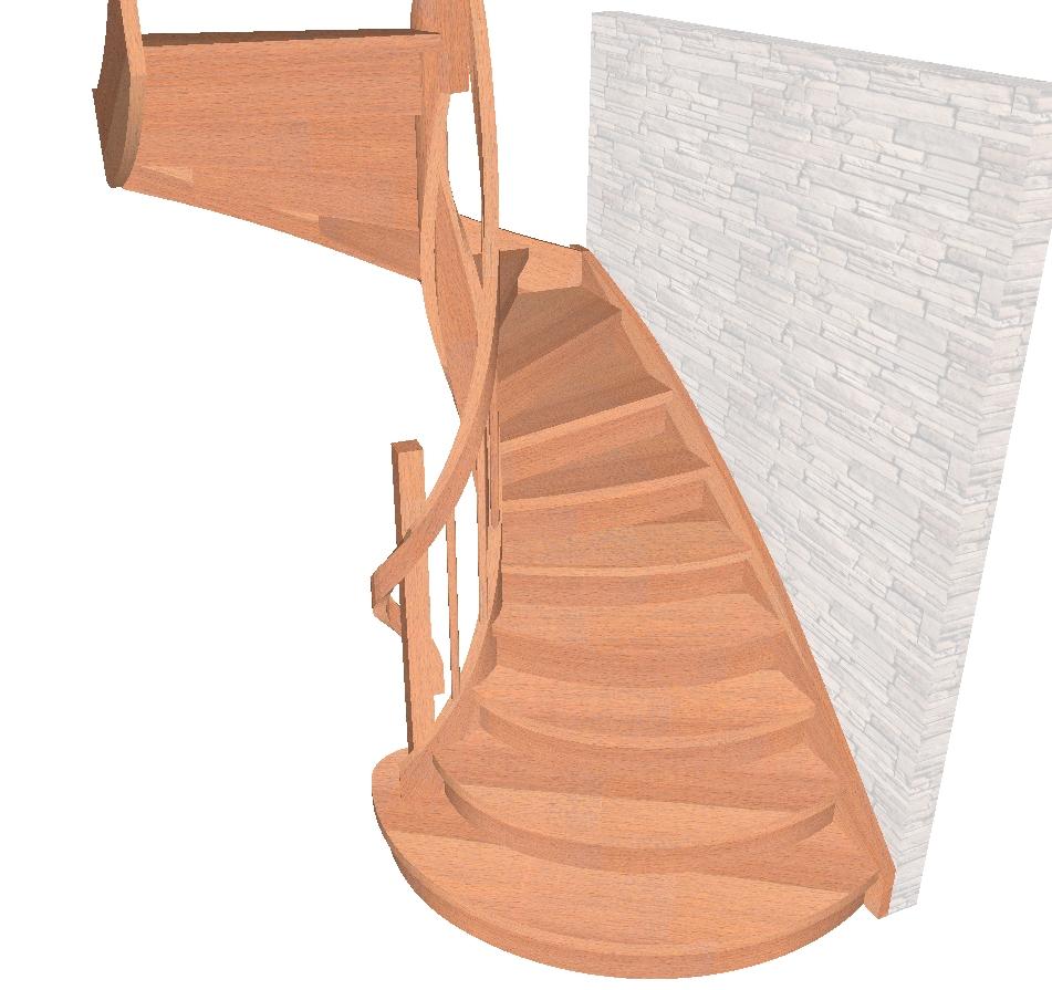 Bukowe drewno na schody