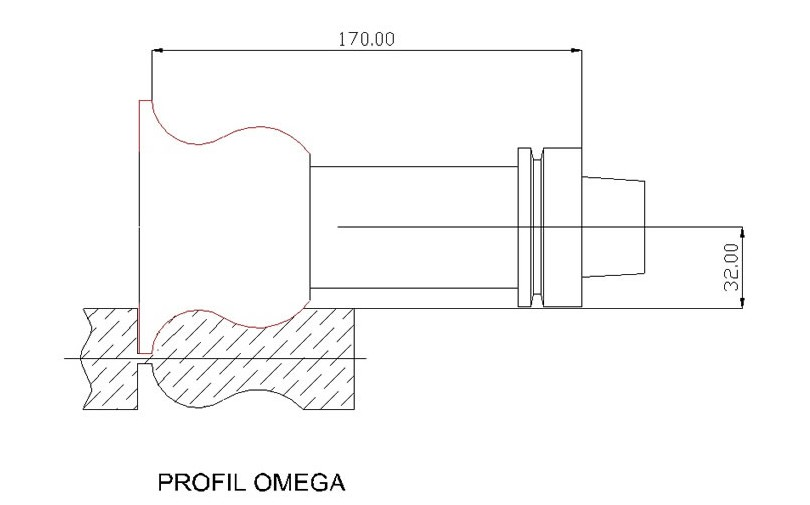 CNC Frez omega