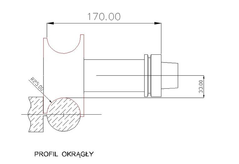 CNC Frez okrągły