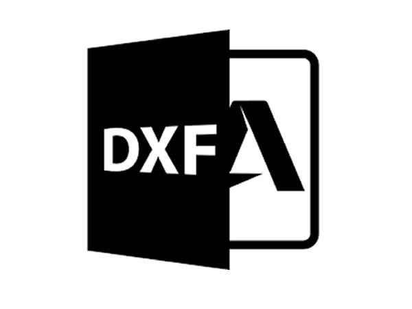 DXF elementów schodów