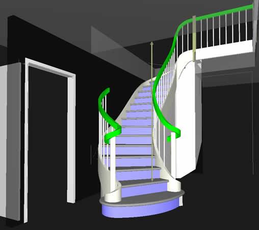 Pomiar i projekt schodów betonowych