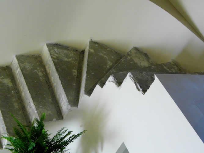 Beton do obłożenia schodami