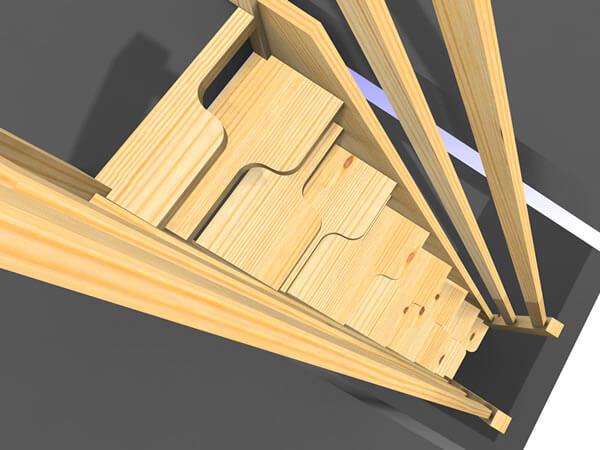 Schody kacze na strych