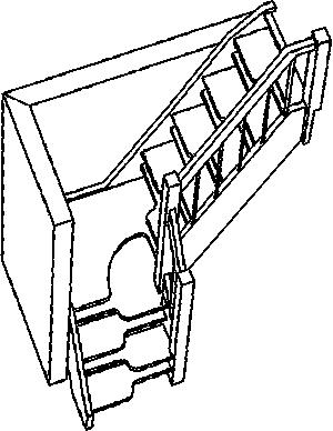 schody na strych