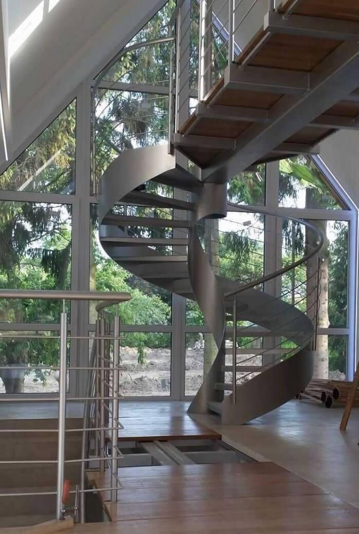 Schody spiralne metalowe Spawartex